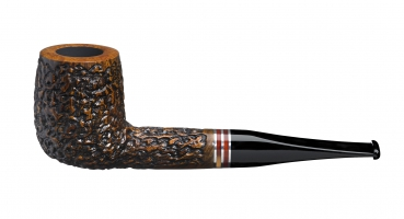 John Aylesbury The Pipe Smoker's Beginner Set mit gerader Pfeife, rustiziert