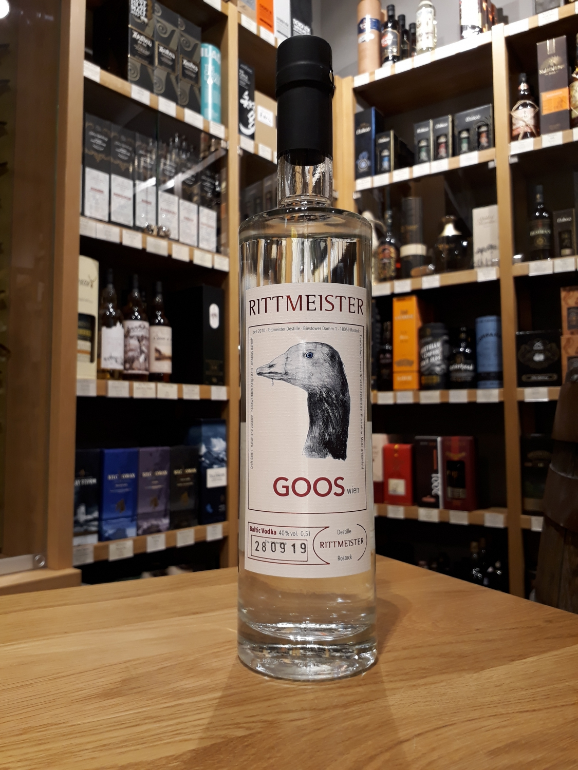 Rittmeister GOOS Baltic Vodka