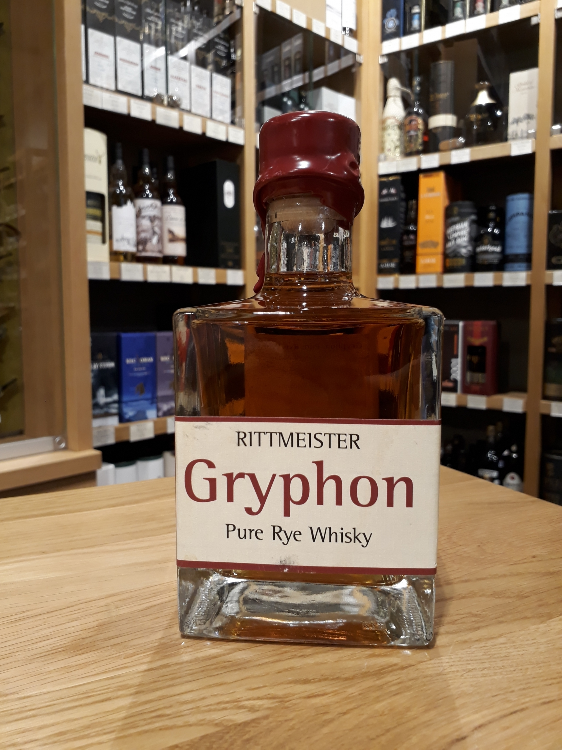 Rittmeister Gryphon Pure Rye Whisky