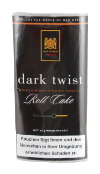Mac Baren Dark Twist Roll Cake