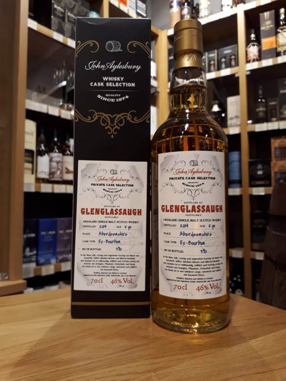 John Aylesbury Private Cask Glenglassaugh 5 yo