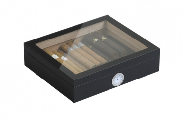 Humidor-Set London schwarz