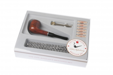 John Aylesbury The Pipe Smoker's Beginner Set mit gerader Pfeife