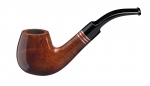John Aylesbury The Pipe Smoker's Beginner Set mit gebogener Pfeife, hellbraun